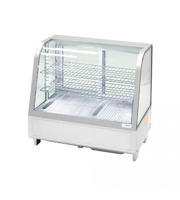 Strieborná stolová vitrína 100 l